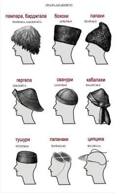 Caucasian hats