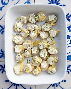 New Potatoes with Aioli and Preserved Lemons Recipe