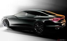Hyundai Reveals Design of All-New Azera