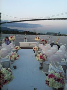 The Wedding Yacht Fireworks Wedding Ceremony