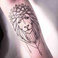 fotos de tatuagens leão - 41