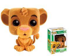 Funko POP! Vinyl Figure The Lion King: Simba Flocked - The Movie Store