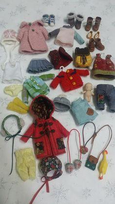 by Sun Joo Dee Tiny Dolls, Soft Dolls, Cute Dolls, Dollhouse Dolls, Miniature Dolls, Fabric Dolls, Paper Dolls, Doll Wardrobe, Barbie Patterns
