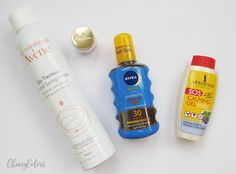 My favorite products for the vacation & the beach - Cherry Colors - Cosmetics Heaven!