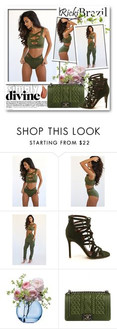 """""""Ricki Brazil 9"""" by fashionmonsters ❤ liked on Polyvore featuring LSA International, Chanel and rickibrazil"""