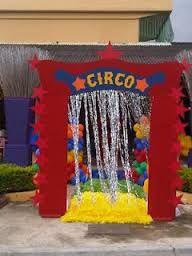 escenario de circo infantil - Buscar con Google                                                                                                                                                     Más
