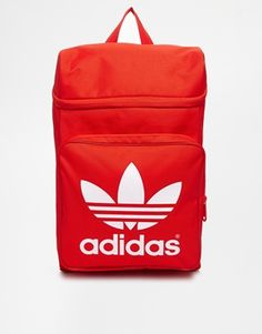 Adidas Originals Classic Backpack in Red Adidas Backpack 8ff5caa1178f0