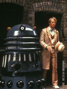 A Dalek and the 5th Doctor