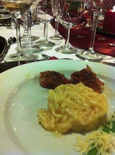 Recipe Risotto milanese mit Saltimbocca vom Seeteufel