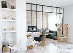 "DIY / My indoor canopy spirit artist studio ""homemade"" - shower Interior Design Trends, Interior Inspiration, Home Interior, Interior Architecture, Indoor Canopy, Home Living Room, Living Spaces, Home Office, Home And Deco"