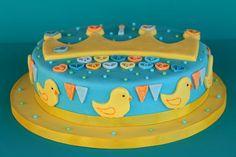 1. Geburtstagstorte für den kleinen Prinzen Fondant, Cupcakes, Cake Smash, Baby Food Recipes, Birthday Cake, Desserts, Recipes For Babies, Vegane Rezepte, Bakken