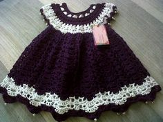 crochet toddler dress
