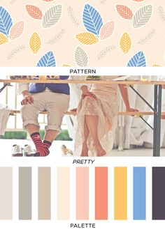Pattern Pretty Palette | 15 | Brooklyn Bride - Modern Wedding Blog