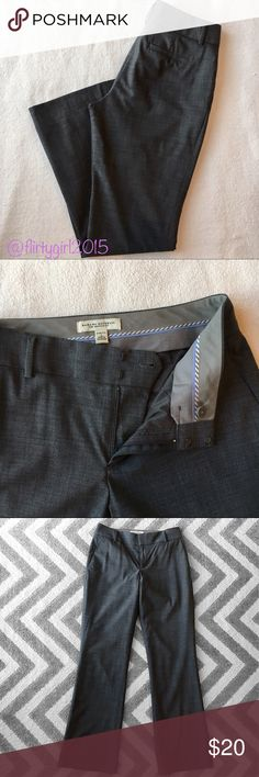 """💼 Banana Republic Trousers ✨Like New!! Martin fit trousers from Banana Republic in gray. Fully lined. Size 2 stretch. 31"""" inseam. Banana Republic Pants Trousers"""
