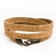 Cork Bracelets with 3 Loops / Eco Friendly Gifts for fathers Day on Etsy, $19.00