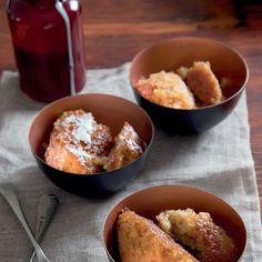 Winterpoeding-en-rooibos-brandewynstroop. French Toast, Oatmeal, Pudding, Baking, Breakfast, Hot, Desserts, Recipes, African