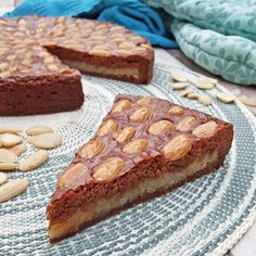 Speculaas met amandelspijs & amandelen / spiced biscuit pie with almond paste and almonds / - Het keukentje van Syts Banana Bread, Biscuits, Almond Paste, Almonds, Desserts, Crack Crackers, Tailgate Desserts, Cookies, Deserts