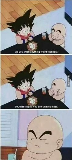 Getting real tired of your sh*t Goku.