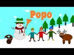 Der tanzende Schneemann ein deutsches Kindergartenlied zum mitsingen und tanzen