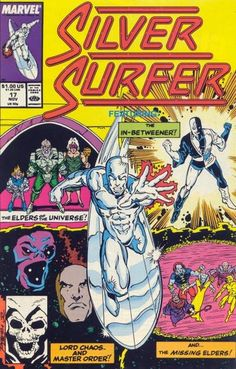Silver Surfer Vol. 3 # 17 by Ron Lim & Joe Rubinstein