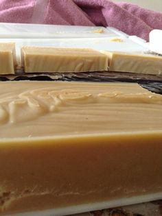 Pumpkin soap Pumpkin soap made with fresh baked pumpkin and scented with vanilla and clove oil