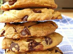Chewy Chocolate Chip Cookies Recipe - trying this recipe...