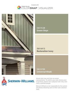 Exterior Paint Colora For House Green Roof Vinyl Siding Ideas For 2019