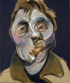 "Francis Bacon | ""Self Portrait"" | Oil on Canvas | 1969"
