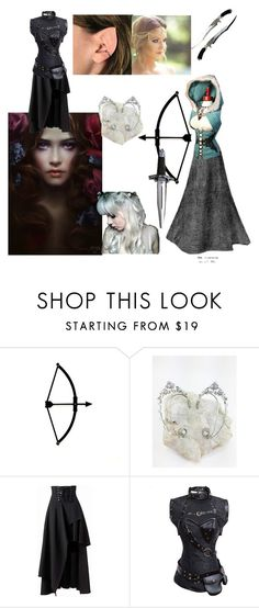 """""""The Shanarra Chronicles: Elven Huntress"""" by brynfoley ❤ liked on Polyvore featuring Camille la Vie"""
