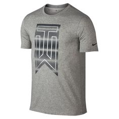 Nike TW Graphic Men's T-Shirt Size Medium (Grey) - Clearance Sale