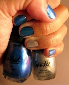 """#NOTD #Spoiled """"First Class Only"""" & """"Daddy's Credit Card"""" #Nails"""