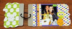Doodlebug Design Inc Blog: Ghouls & Goodies: 2 Cute 2 Be Spooky Mini Album by Kathy
