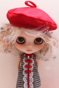 Aggy and the red hat by BellaSol~, via Flickr
