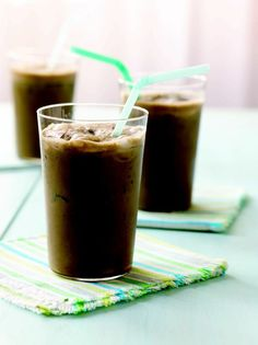 Black Bean, Chocolate, Banana #Smoothie - #Chocolate and black #beans are great pals—the beans give the  smoothie filling #protein, fiber, and a nice creaminess while the cocoa powder adds a deep and toasty  chocolate taste.