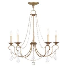 Cast a warm glow in your dining room or master suite with this candelabra-inspired chandelier, showcasing draped beading and an antique silver leaf finish.