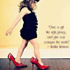This so reminds me of my Hayley!  Always in heels ... (my wedding shoes, were affectionately known as her 'married shoes.' :)