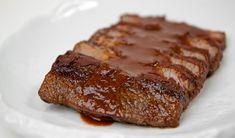 Slow Cooker BBQ Beef Brisket / @DJ Foodie / DJFoodie.com