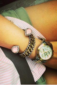 sarra cuff + mara bracelet