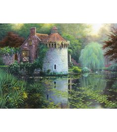 Candamar Scotney Castle Garden Counted Cross Stitch KitCandamar Scotney Castle Garden Counted Cross Stitch Kit,