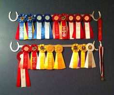 Custom made horse ribbon display rack in Crafts | eBay