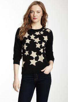 Corey Lynn Calter Metallic Graphics Pullover Sweater by Non Specific on @HauteLook