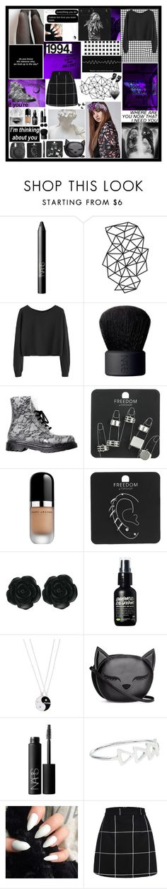 """Lisa - Ep 3"" by prettygirlyszl on Polyvore featuring moda, NARS Cosmetics, WALL, Fujifilm, xO Design, Topshop, Marc Jacobs, Dollydagger, Accessorize e H&M"