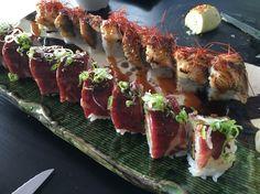 Sushi with Australian beef and eel 👍