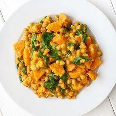 Kichererbsen-Süßkartoffel-Curry