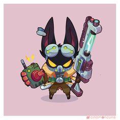 Veigar League Of Legends, Cute Eyes, Cartoon Characters, Fictional Characters, Cute Creatures, Cute Art, Concept Art, Pokemon, Character Design
