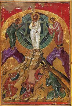 Byzantine Icons, Byzantine Art, Orthodox Calendar, The Transfiguration, Black Jesus, Tribe Of Judah, Religion Catolica, Life Of Christ, Black Love Art