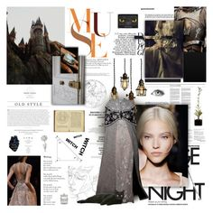 """""""WHAT A WITCH."""" by whiteshvdows ❤ liked on Polyvore featuring Behance and Waterford"""