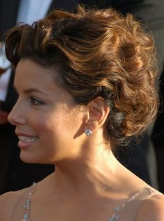 Eva Longoria Parker at the 15th Annual Screen Actors Guild Awards | Haircuts, Hair Styles & Pictures of Celebrity Hairstyles 2012
