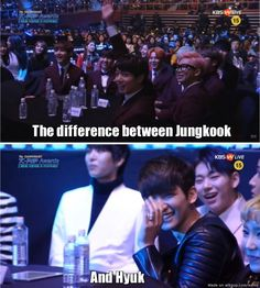 The difference between them though | allkpop Meme Center