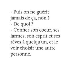 Si on guérit, mais mal. Text Quotes, Sad Quotes, Love Quotes, Motivational Quotes, Can We Love, Broken Words, Quotes White, French Quotes, Bad Mood